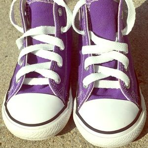 Toddlers high top converse